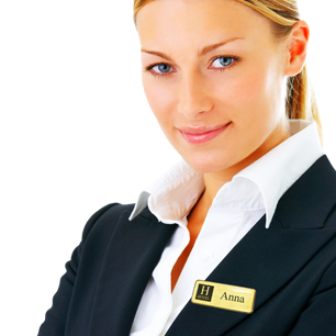 The professional choice in personalised name badges | www.namebadgesinternational.co.uk